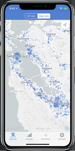 World Wi-Fi Maps View